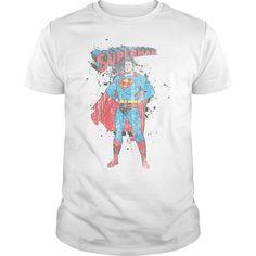 Superman Vintage Ink Splatter  - #hoodies #tee shirt design. HURRY => https://www.sunfrog.com/Geek-Tech/Superman-Vintage-Ink-Splatter-.html?id=60505