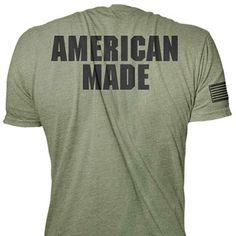 Rogue American Made Shirt - Green Estilo Masculino a5ee2ea569a