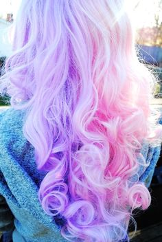 Baby Purple & Pink Hair #pastel #pink #hair www.loveitsomuch.com