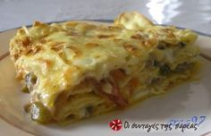 Lasagna - Which is correct? Depends on where you live. In Italy, 'lasagna' is singular, 'lasagne' is plural. In Great Britain 'lasagne' is primarily used, whereas in the U. both 'lasagne' and 'lasagna' are used interchangeably. Tuna Recipes, Ww Recipes, Italian Recipes, Chicken Recipes, Cooking Recipes, Quiche Recipes, Pasta Recipes, Sausage Recipes, Chicken Spinach Mushroom