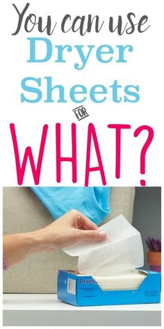 If you're trying to be frugal, you should really consider how you use dryer sheets. Not only can a single dryer sheet be used more than once in your dryer, but dryer sheets can also be applied all over...