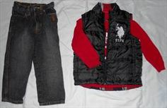3T U.S. Polo Boys Outfit. Washed and Never Worn.  List Price: $12