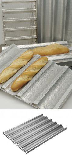 Focus Foodservice Commercial Bakeware Baguette//French Bread Pan