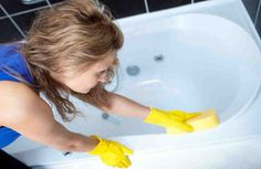Как отчистить даже самую «убитую» ванну. Супер очиститель для ванн!
