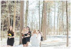 Outdoor winter wedding photograph at Garvan Gardens in Hot Springs, Arkansas. Hot Springs Arkansas, University Of Arkansas, Woodland Garden, Architectural Features, The Past, March, Photograph, Gardens, Romantic