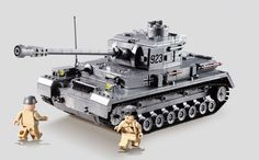 Building Block German WW BIGGER TANK OF German :WW2 WORLD WAR TANK WIT H instruction book (NO BOX) This is Custom Brand (Not Lego Brand) , but these minifigures are fit and compatible with Lego and suitable for the scene making.