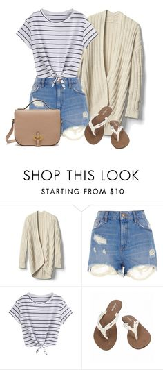 """""""Day in Santa Monica"""" by volleyball-013 on Polyvore featuring Gap, River Island, Volcom and Mulberry"""