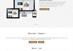 Agency A Corporate & Portfolio Responsive WordPress Theme By Themify