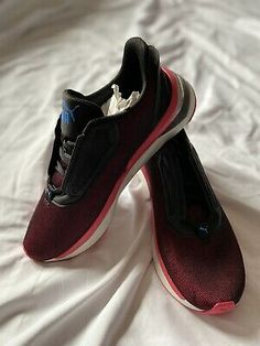 Puma Lodcell Black and Pink Running Shoes UK Size 7 | eBay Running Shoes Uk, Slow Fashion, New Shoes, Sneakers, Ebay, Black, Tennis, Slippers, Black People