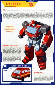 Transformer of the Day: Ironhide