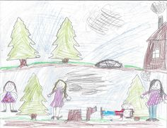 """""""My favorite part of the story was when Stan picked up the ax. I also liked when Stan pushed Mr. Cruchly into the water."""" Mrs. Hunt's 3rd grade."""