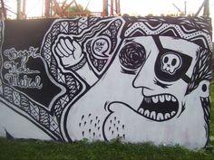 Mural in Bogor, Indonesia - from site documenting urban street art
