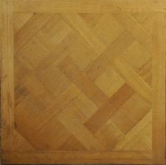 Versailles parquet floor : Parquet de Versailles panel, 18th century, Marc Maison Gallery.   #marcmaison #versailles #parquet #18thcentury #antique #french #decor