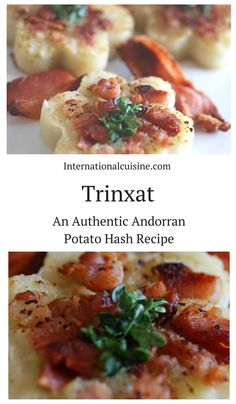 Trinxat is a super delicious potato hash recipe made with potatoes, cabbage and bacon. We loved it!  Thanks Andorra!