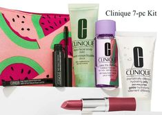A free 7-pc Clinique kit direct from Clinique - yours with any $45 purchase.