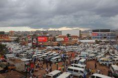 Old taxi park Kampala, Uganda Taxi, Uganda, Times Square, Places, Travel, Viajes, Destinations, Traveling, Trips