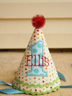 Boys 1st Birthday Party Hat