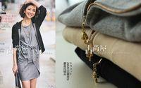 Mushroom head zipper casual with cap sweat shirt hoodie 2013 new autumn free shipping ww0737
