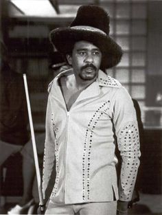 Richard Pryor playing Billiards