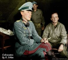 Generalleutenant Otto Elfeldt captured by the Allies in the Falaise pocket being interrogated by American soldiers in Saint Lambert sur Dive France August Luftwaffe, Killed In Action, History Online, The Third Reich, Prisoners Of War, American Soldiers, German Army, Germany Ww2, Second World