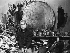 Francis Bacon photographed at his home and studio in Reece Mews, London,1985. Photo by Jane Bown.