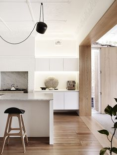 Turning Two Art Deco Duplex Apartments Into One Modern Family Home