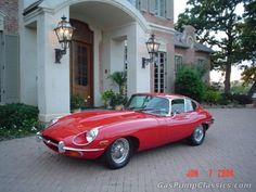 1970 Jaguar XKE - This is like the one my Dad sold before we moved to Singapore.  Poor Norm wishes he still had it!