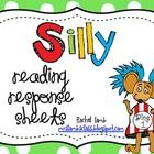 Reformatted 2.16.13! Just need some super silly response sheets for Read Across America-or any day you feel funky? I created graphic organizers a...