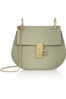 b05a74cb0e0 Chloé - Drew mini textured-leather shoulder bag