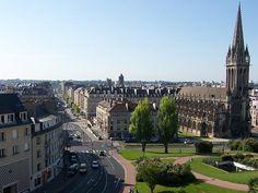Caen, Basse-Normandie, France (2005-2006).  I spent my unforgettable 10 months here.
