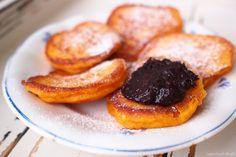 Dýňové lívanečky Pancakes, French Toast, Pumpkin, Lunch, Vegan, Fruit, Breakfast, Sweet, Desserts