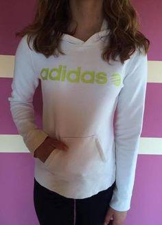 Kup mój przedmiot na #vintedpl http://www.vinted.pl/damska-odziez/bluzy/14486072-biala-bluza-adidas-neo-sm