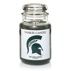 Michigan State University (Balsam & Cedar) : Large Jar Candle : Yankee Candle #EastwoodPinPals