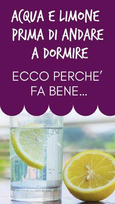 #limone #acqua #rimedinaturali 1000 Calories, Soap, Personal Care, Drinks, Bottle, Beauty, Fitness, Medicine, Diet