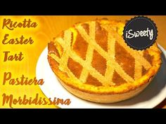 Pastiera Napoletana Morbidissima [Ricetta Antica] SUB ENG - Dolce di Pasqua - YouTube Tart Dough, Sweet Tarts, Dolce, Ricotta, Waffles, Make It Yourself, Breakfast, Youtube, Desserts