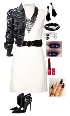 """""""I Wanna Be Myself Tonight"""" by dragongirl145 ❤ liked on Polyvore featuring Thierry Mugler, MANGO, Alexis Bittar, sweet deluxe, Delfina Delettrez and Givenchy"""