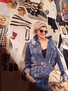 Jaqueta Jeans com cinto