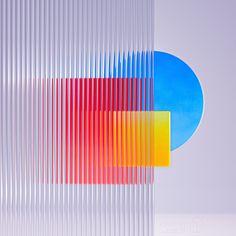 Glass Refraction on Behance 3d Texture, Glass Texture, Abstract Iphone Wallpaper, Mood Images, Composition Design, 3d Tutorial, Motion Design, 3d Design, Graphic Design