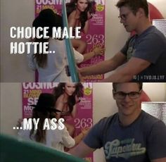 choice male hottie my ass