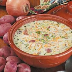 creamy red potato soup