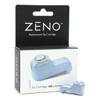 Zeno Replacement Tip Cartridge 1 ea. Tip Cartridge: 60 treatment cycles Zeno™ is a clinically proven acne clearing device used to treat mild to moderate individual acne pimples. Package contains: One Treatment Tip Cartridge Read the Zeno Product Manual Completely. Replacing the Zeno Treatment Tip Cartridge The Zeno™ Treatment Tip Cartridge is programmed with a specific number of treatment cycles, indicated by the number inscribed onto the top of the cartridge. Once the treatment cycles…