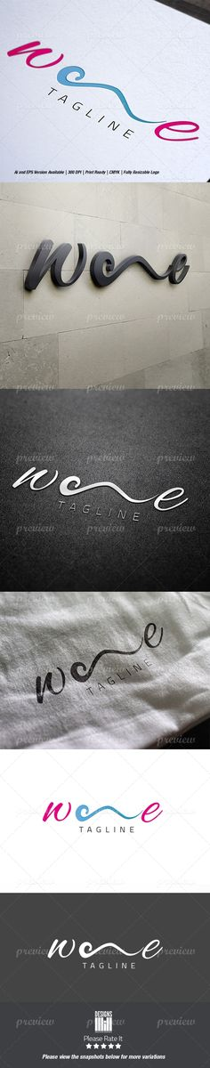 Wave Logo - http://www.codegrape.com/item/wave-logo/3588