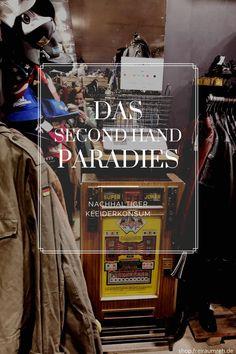 Second Hand vs Neukauf. Warum ein Mix im Kleiderschrank eine nachhaltige Option ist. #SecondHand #FairFashion #Nachhaltigkeit #Freiraumreh Second Hand Shop, Broadway Shows, Shopping, Second Hand Stores, Sustainability, Reach In Closet