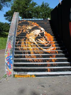 Wall paints, Muurschilderingen, Peintures Murales,Trompe-l'oeil, Graffiti, Murals, Street art.: Eindhoven - Netherlands