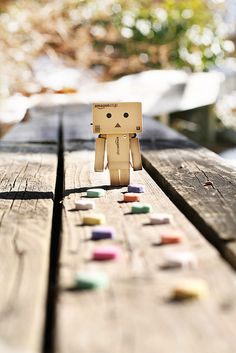 danbo and vday hearts!