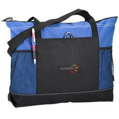 They'll select this promotional tote when they see your embroidered logo!