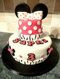 girls birthday cake minnie mouse birthday cake | Minnie Mouse Cake A Delightful Minnie Mouse Birthday Cake