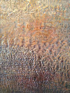 """A Moment of Clarity"" 24""x48"" encaustic painting on hardboard. Features beeswax, tinted shellac burn, ink, oil paint, tree resin, metallic pigments. Original Paintings for sale on srowan.weebly.com and eBay as Art by Sha. You may also view more on Facebook as Art by Sha and Wax Ecstatic Encaustics. Thanks for sharing."