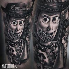 Woody Tattoo