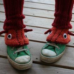 Monster leg warmers